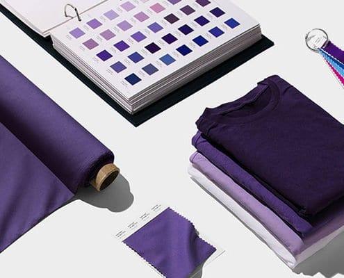 pantone kleur paars